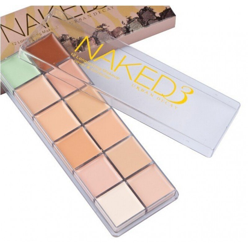 Корректор Naked 3 Urban Decay 12 цветов