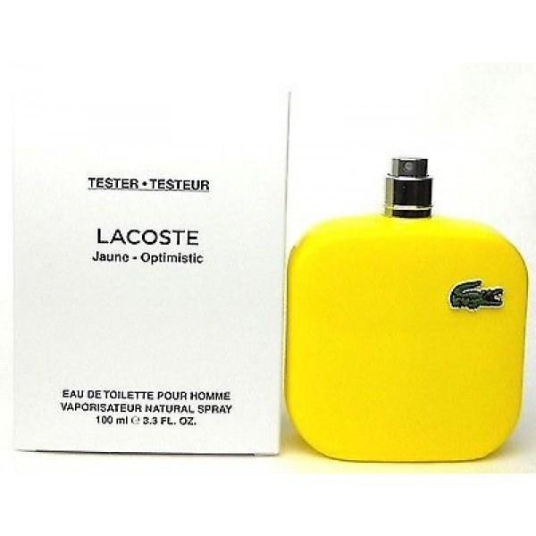 Тестер Lacoste Jaune Optimistic 100 ml